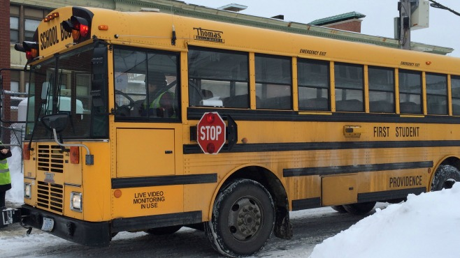 busses at school_127629
