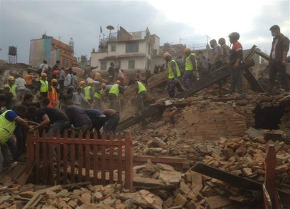 Nepal earthquake aftermath_167041
