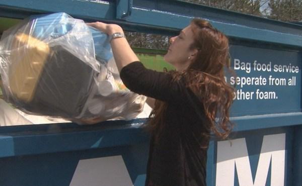 Styrofoam recycling at Central Landfill_166145