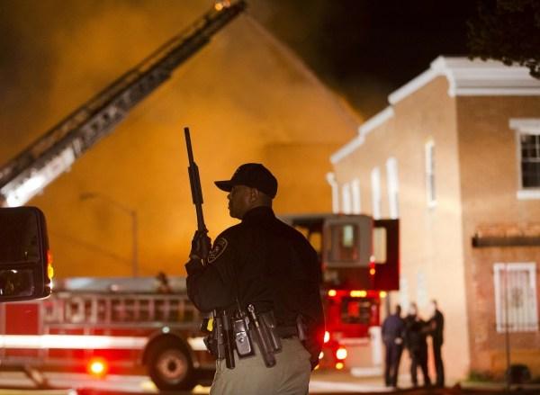 Suspect Dies Baltimore_167603