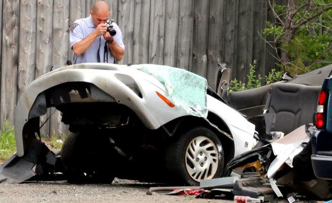 Double fatal accident- Mattapoisett, MA. (David Curran Photo)_176439