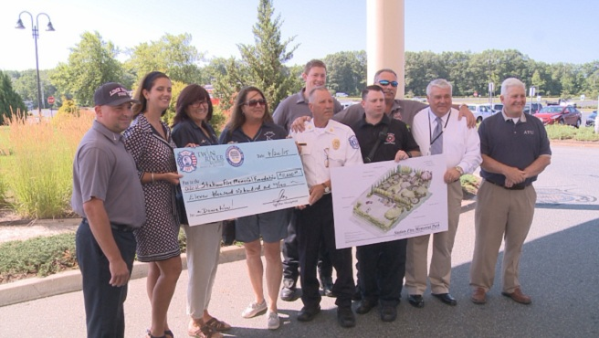 Lime Rock Fire Department presents donation to Station Fire Memorial Foundation_193454