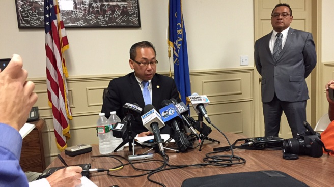 Cranston Mayor Allan Fung responds to state police investigation_198092