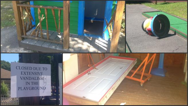 The imPossible Dream playground vandalism_200446