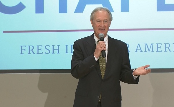 Lincoln Chafee announces run for president_179264