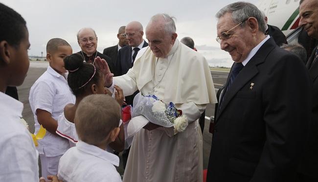 APTOPIX Cuba Pope_211016