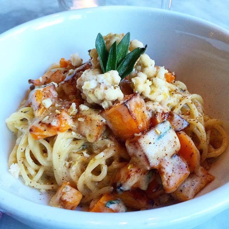 Autumn Spaghetti and Roasted Butternut Squash_79438