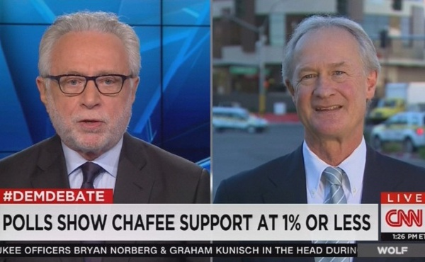 Lincoln Chafee on CNN with Wolf Blitzer_218328