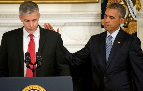 Barack Obama, Arne Duncan,_214946