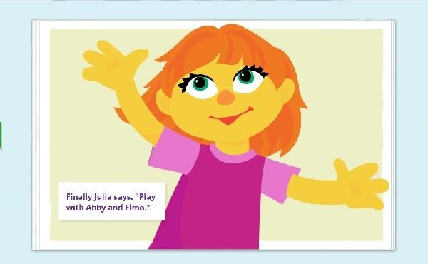 sesame street autism character julia_220380