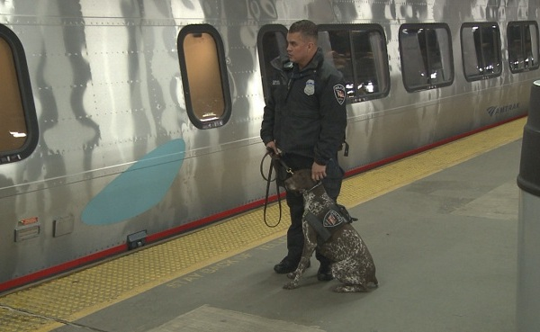 Increased security at Amtrak station_230960