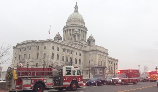 RI statehouse evacuated_226098
