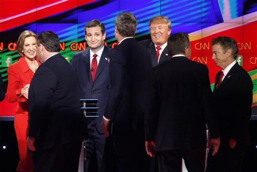 Carly Fiorina, Chris Christie, Ted Cruz, Jeb Bush, Donald Trump, John Kasich, Rand Paul_236885