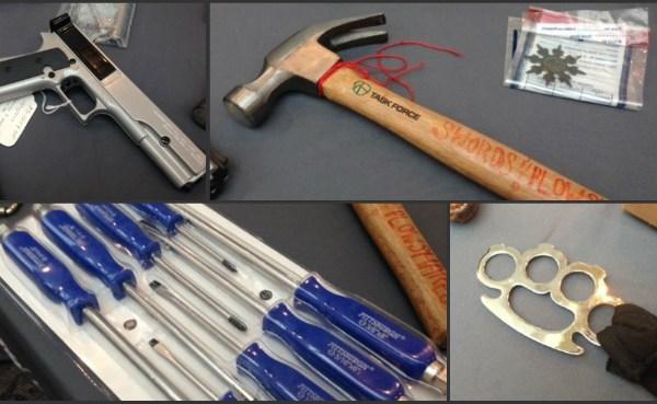 Banned items seized by TSA at TF Green_237748