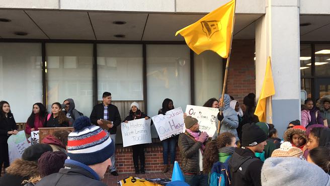 PSU student rally_247750