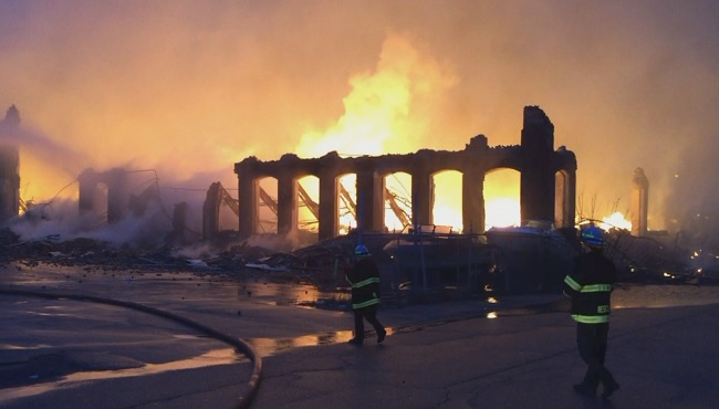 City Owner Of Mill In Fall River Fire Was Told To Fix