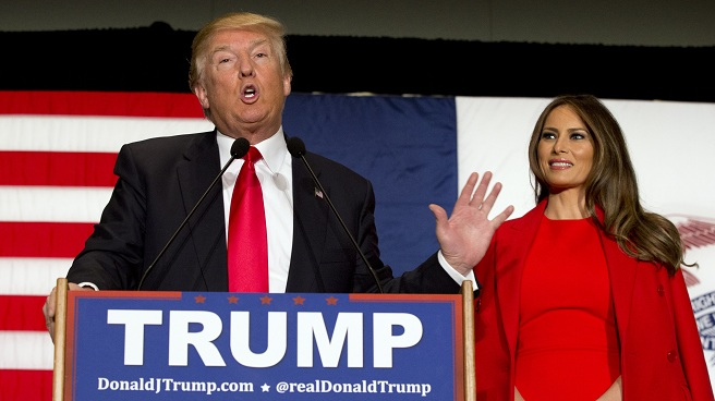 Donald Trump, Melania Trump_253900