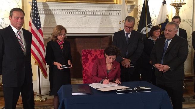 raimondo rhodeworks bill signing_259059