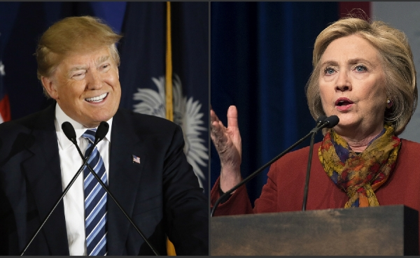 Donald Trump and Hillary Clinton_265882