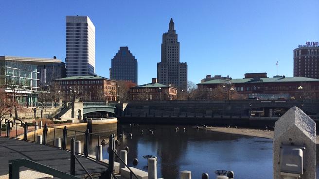 Downtown Providence skyline - Waterplace Park - generic Providence_230377