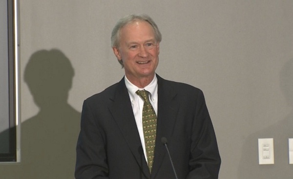 Lincoln Chafee announces run for president_179265