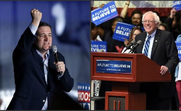 Ted Cruz and Bernie Sanders_297936