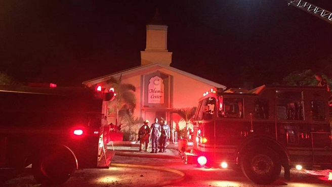 Nightclub Shooting Mosque Fire_356193