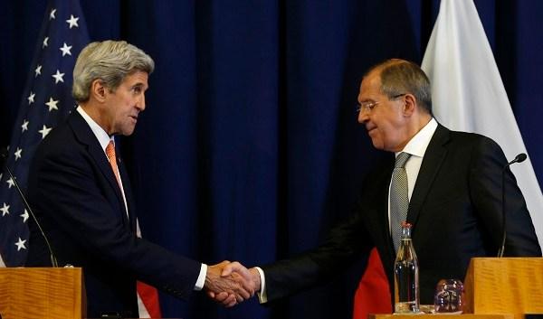 John Kerry, Sergei Lavrov_355795