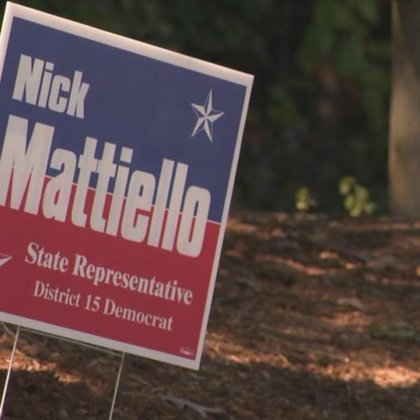 Mattiello campaign sign