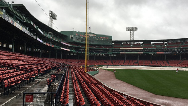 ALDS Game 3 rained out at Fenway Park in Boston_368288