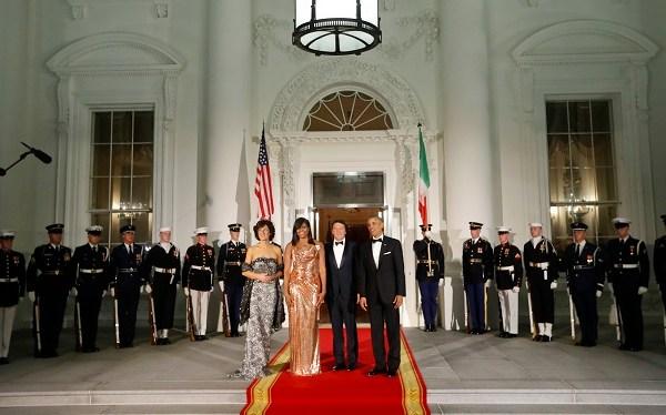 Barack Obama, Michelle Obama, Matteo Renzi, Agnese Landini_372655