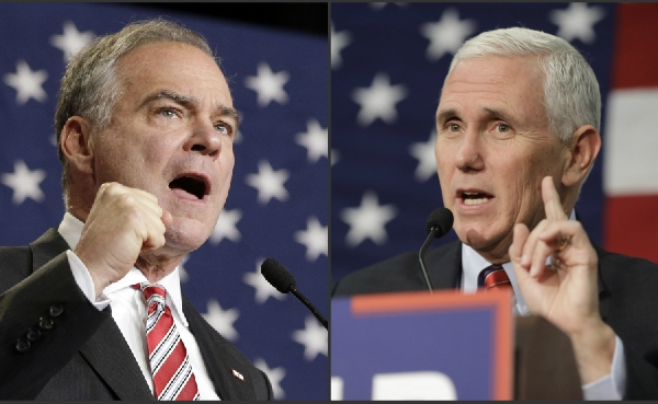 Tim Kaine and Mike Pence_365818