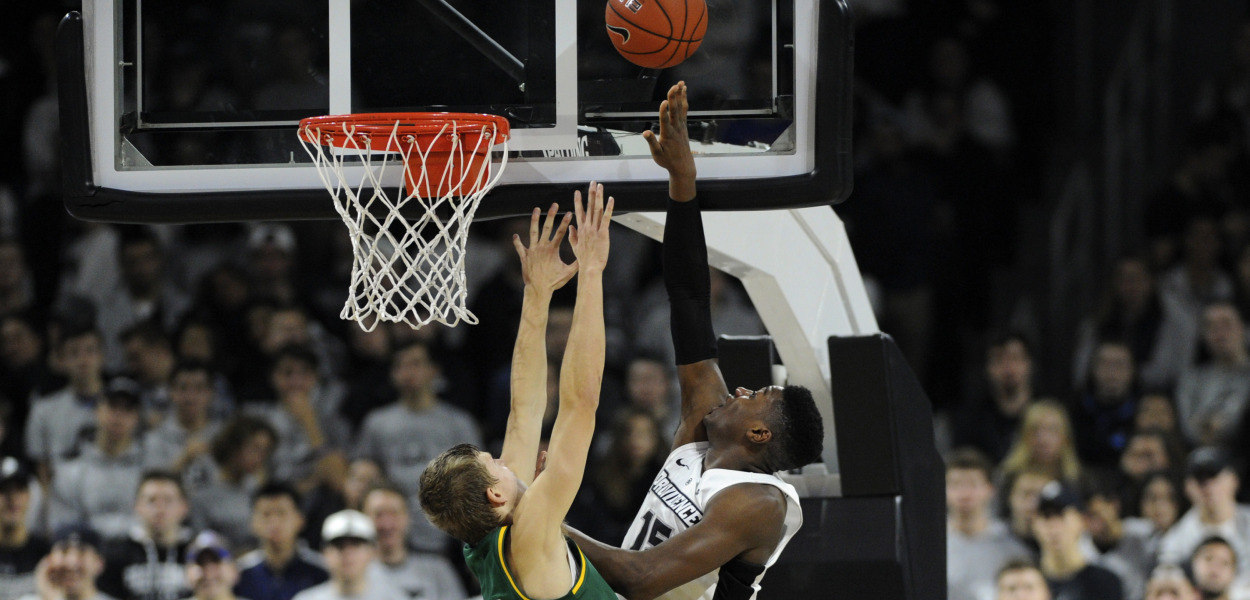 NCAA Basketball_ Vermont at Providence_388556
