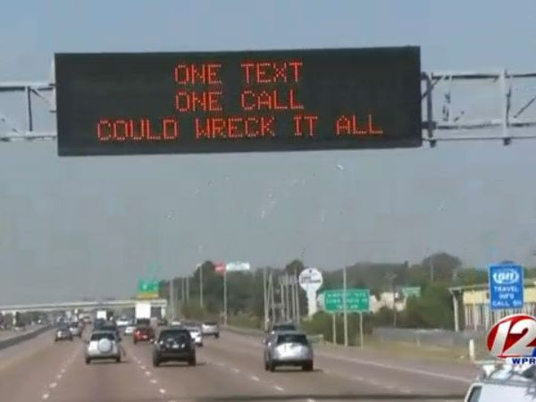 Police urge holiday travelers to not drive while distracted