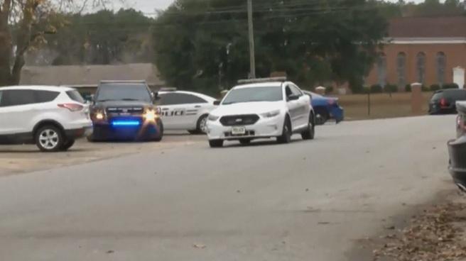 Georgia police officers shot - Americus_393093