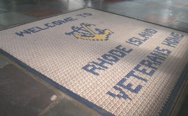 Rhode Island Veterans Home welcome mat_378745