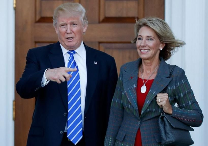 ap-betsy-devos education secretary nominee_390696