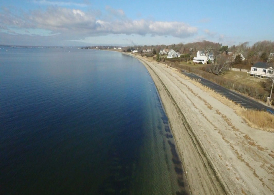 Barrington Beach from Sky Drone 12