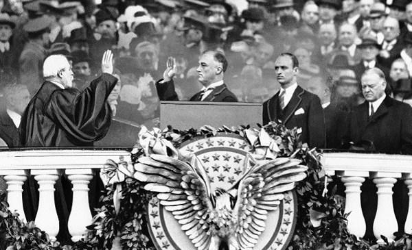 Franklin D. Roosevelt, Charles E. Hughes, Herbert Hoover, James Roosevelt_405515