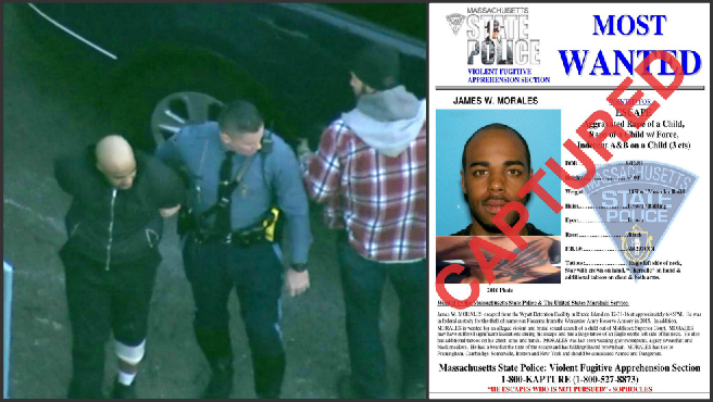 Captured: State police arrest escaped Wyatt inmate