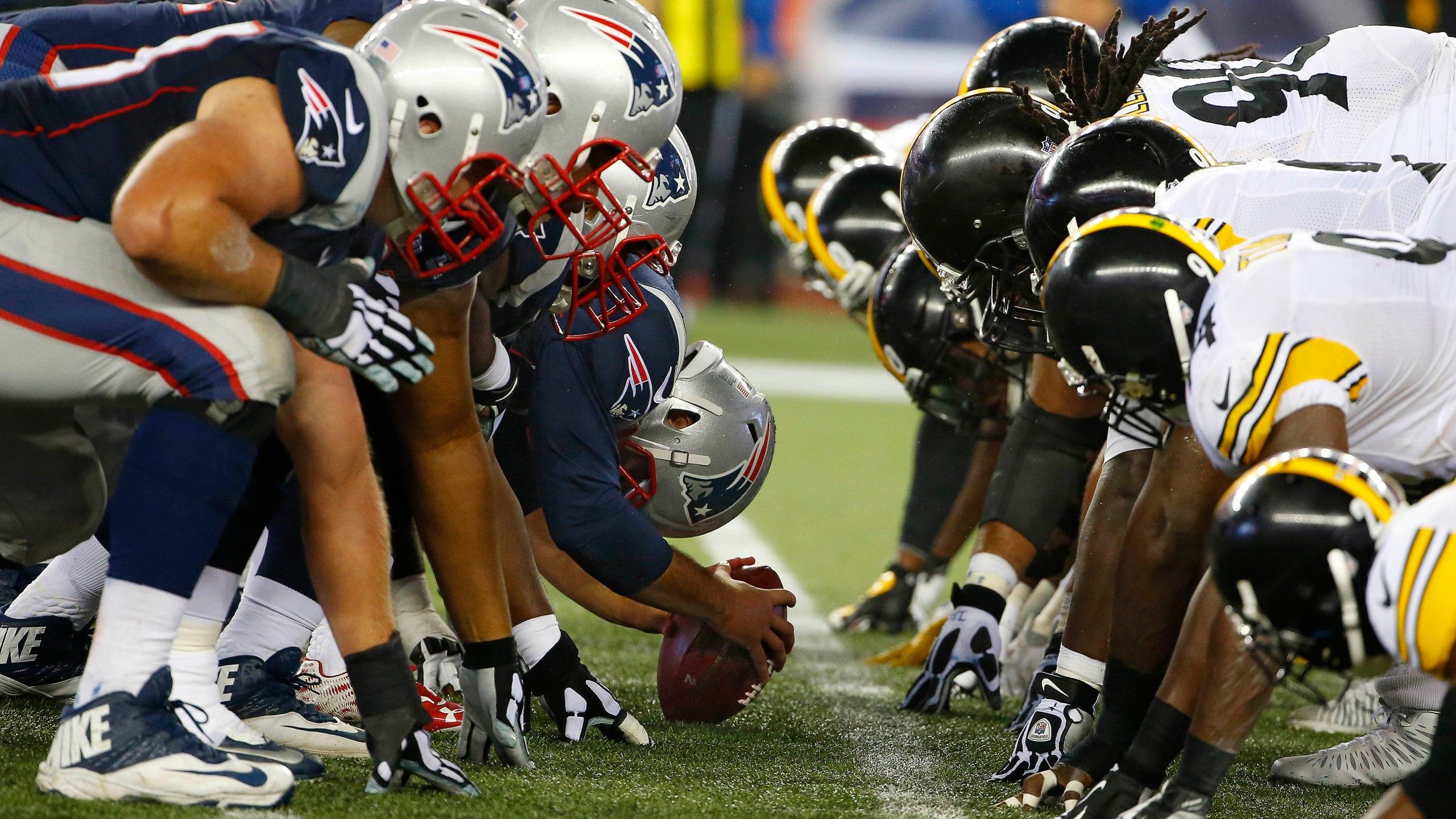 Steelers Patriots Football_406863