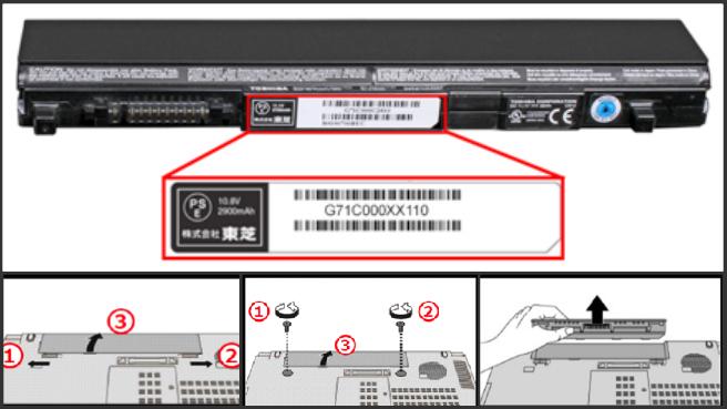 Toshiba laptop battery recall_402468