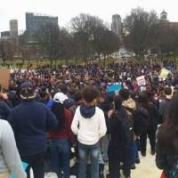 Trump inaugudation day protest at RI Statehouse_408755