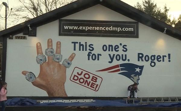 Wakefield Patriots championship mural - rings - roger_421936