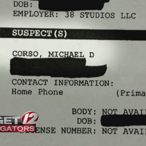 Docs: Corso was suspect in 38 Studios probe