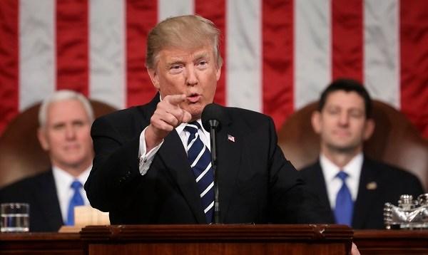 APTOPIX Trump Speech_433861