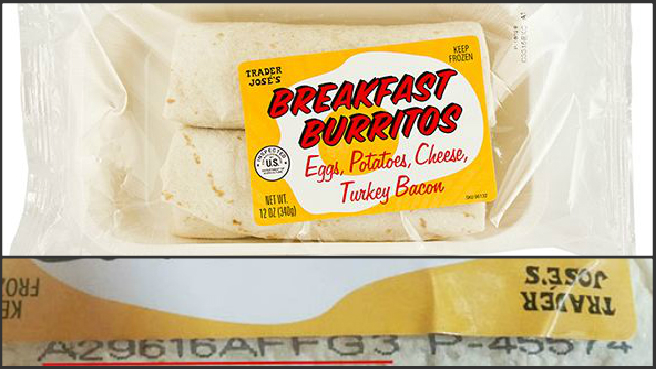 Breakfast burrito recall_444473