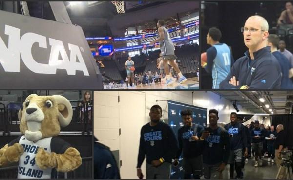 URI Rams in Sacramento for NCAA Tournament_444338