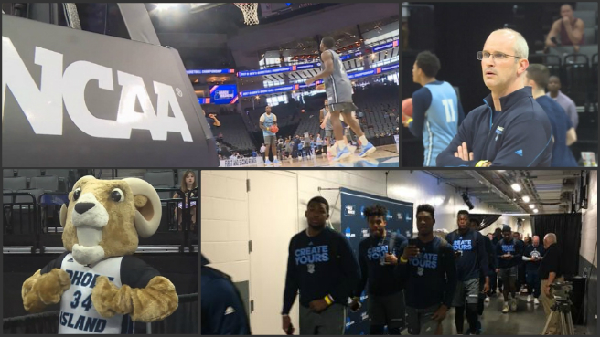 URI Rams in Sacramento for NCAA Tournament_444338