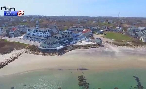 Sky Drone 12 footage of the coast_459327